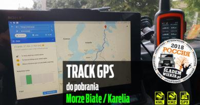 Rosja – Karelia – Track z wyjazdu nad Morze Białe.