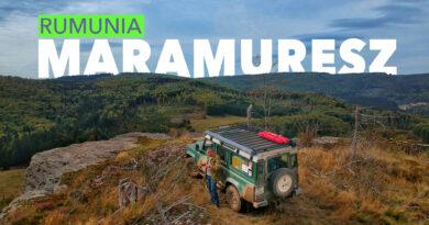 RUMUNIA  MARAMURESZ – terenowa wyprawa na dwa Defendery